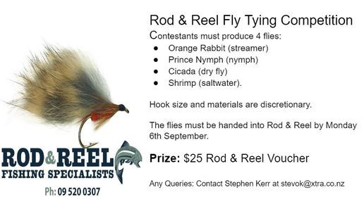 AFAC: Rod & Reel Fly Tying Competition (Date Extended)