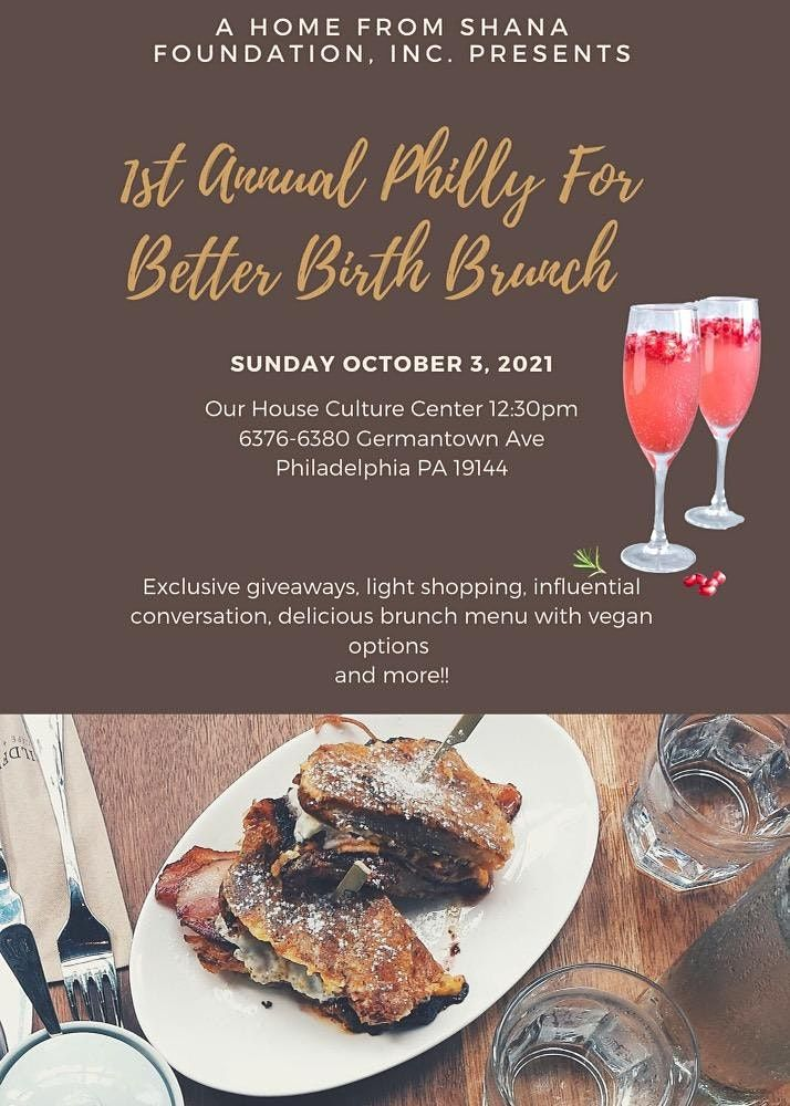 1st Annual Philly For Better Birth Brunch