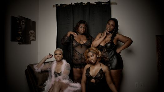 """Puff Mistress Mentionables presents """"The Bawdy Positive Lingerie Show"""""""