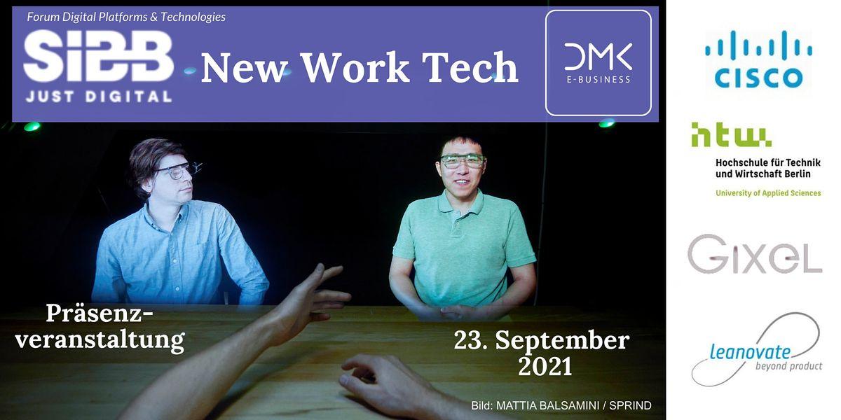 New Work Tech - Werkzeuge der neuen Arbeitswelt