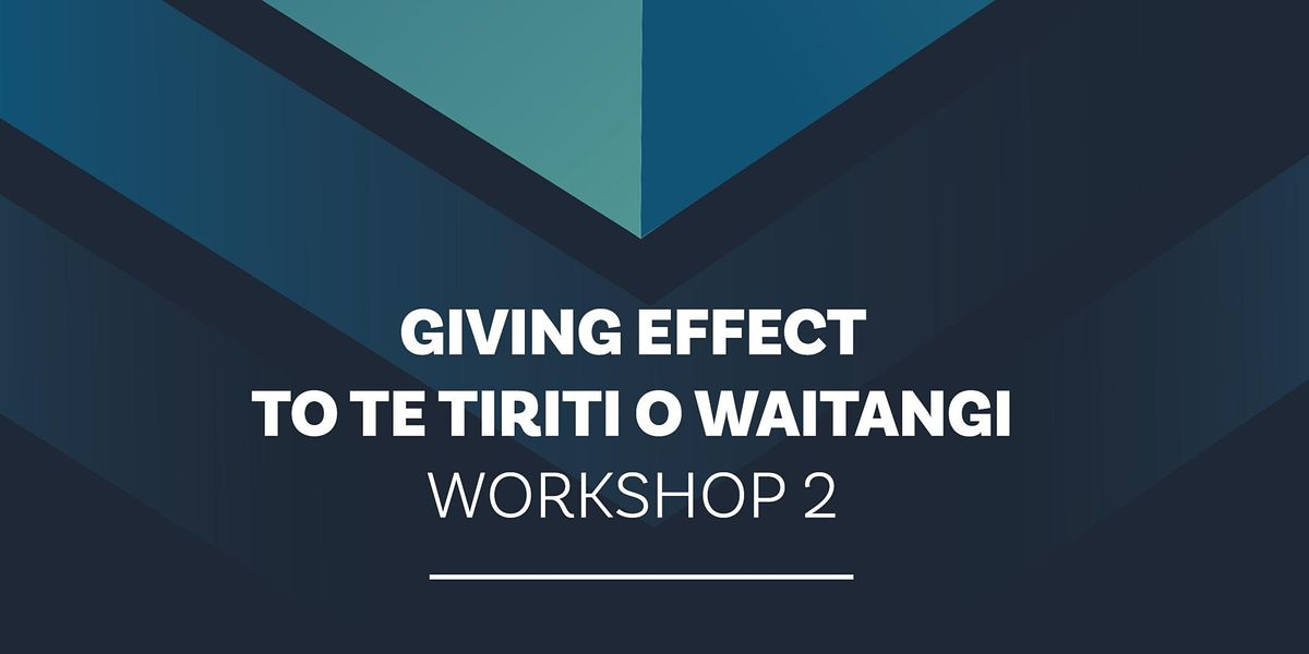 NZSTA Te Tiriti o Waitangi: Part 2 Governance Ponsonby