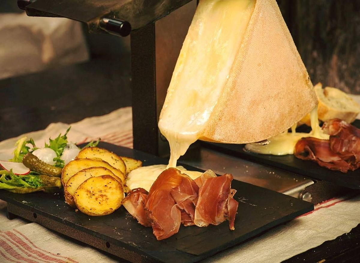 Raclette Party at Wander