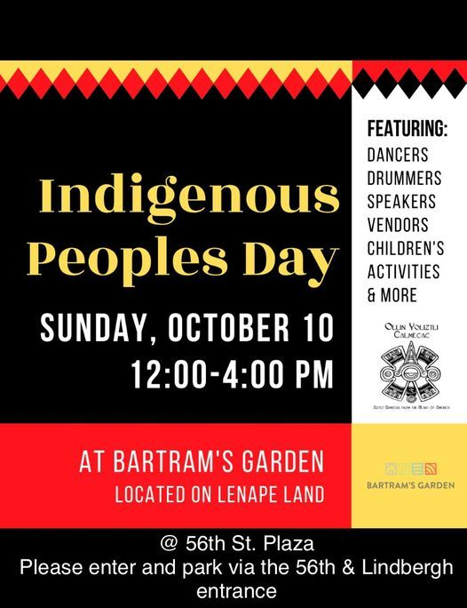 """11TH Annual """"Philly Indigenous Peoples Day"""""""