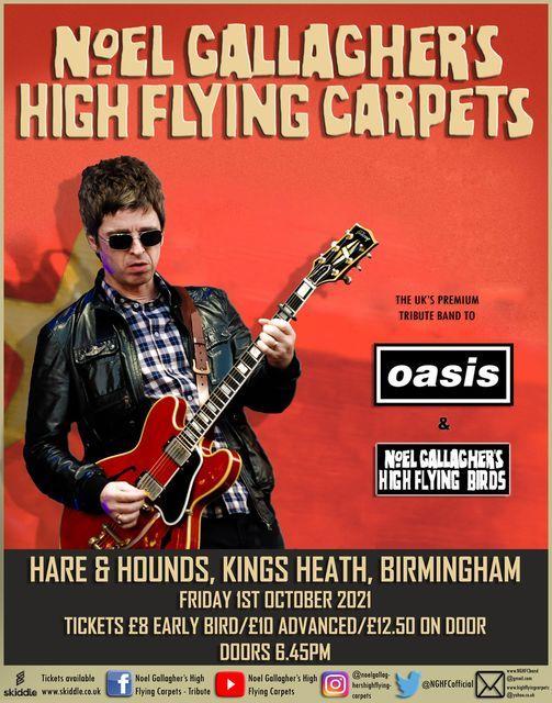 Oasis & NGHFB Tribute Show - Birmingham