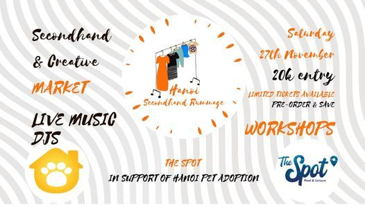 Hanoi Secondhand Rummage 4\/9 - SAVE THE DATE