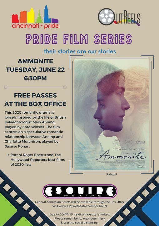 """""""Ammonite"""" Pride Film Series at The Esquire"""
