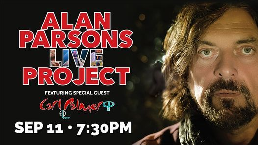 Alan Parsons Live Project featuring special guest Carl Palmer\u2019s ELP Legacy