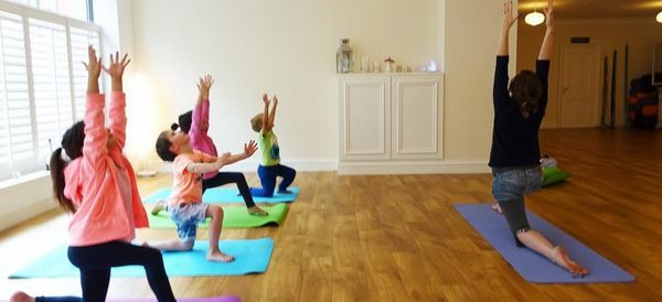 Kid yoga Sept 2021 - 9.30am to 10.15am with Claire\/Michelle