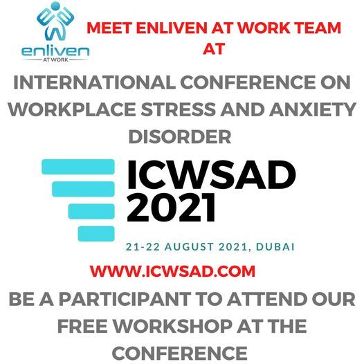 International Conference on Workplace Stress and Anxiety Disorder