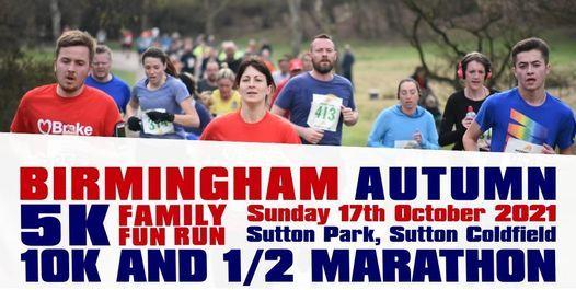Birmingham Autumn 1\/2 Marathon, 10k & 5k