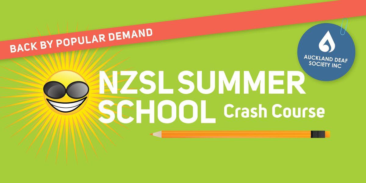 NZ Sign Language Intensive Summer Crash Course - Beginner 1