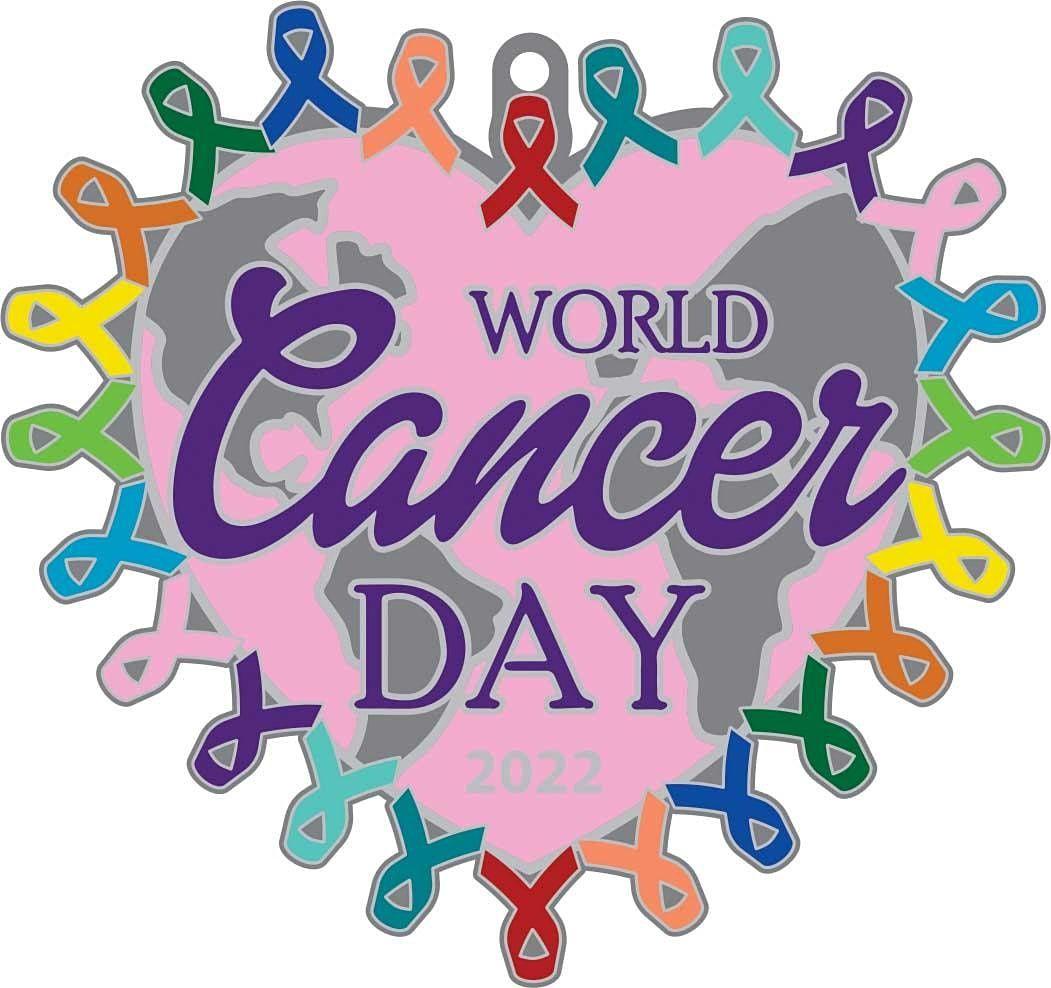 World Cancer Day 1M 5K 10K 13.1 26.2-Save $2