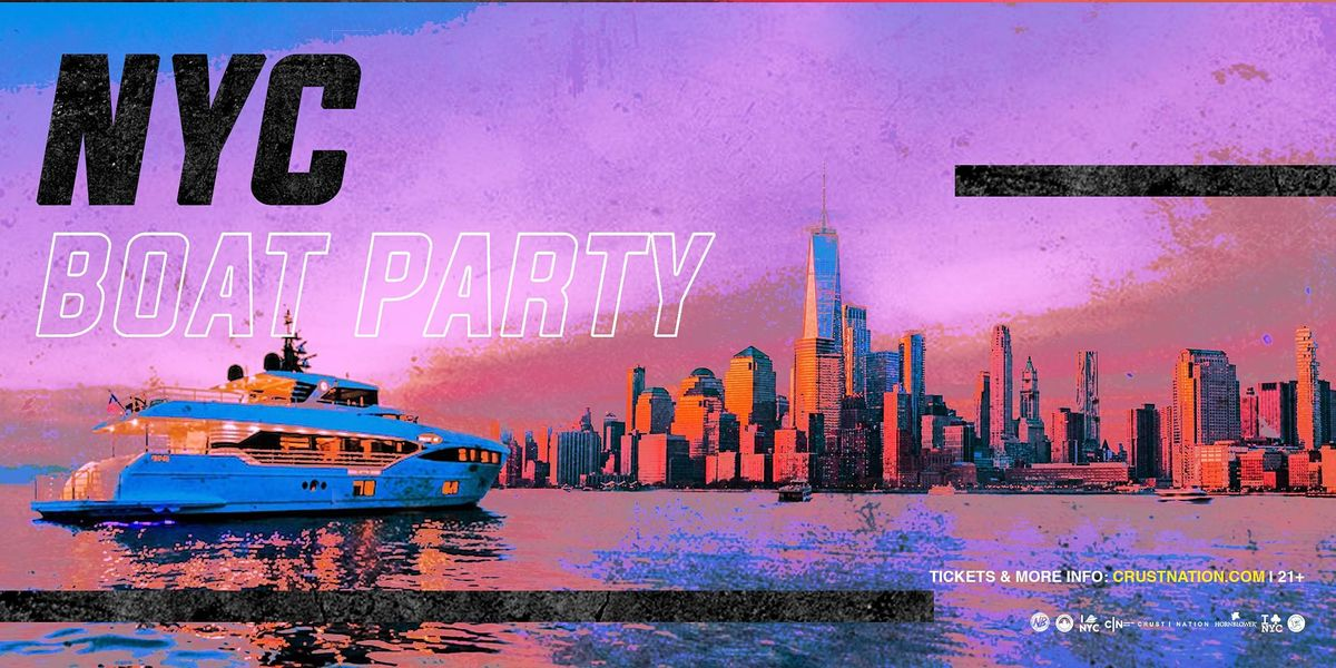 #1 NEW YORK BOAT PARTY YACHT CRUISE  STATUE OF LIBERTY MUSIC COCKTAILS