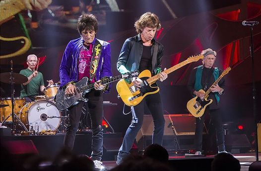 The Rolling Stones live in Charlotte