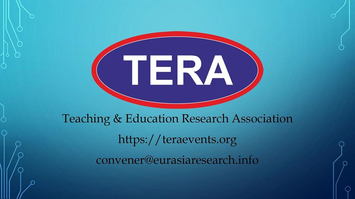 ICTEL 2022 \u2013 International Conference on Teaching, Education & Learning