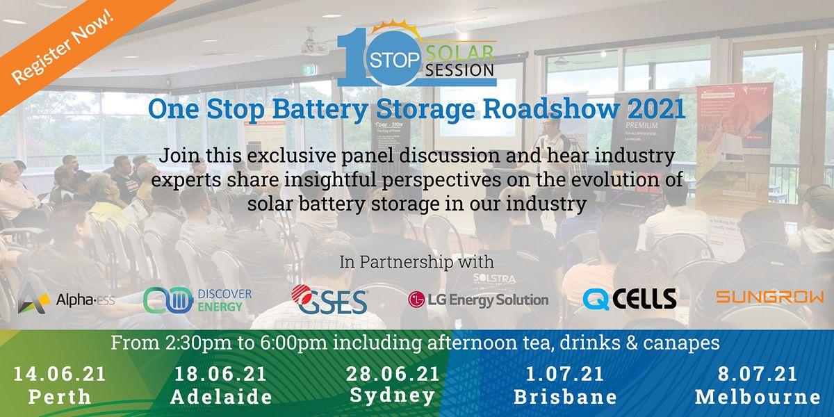One Stop Battery Storage Roadshow - Adelaide