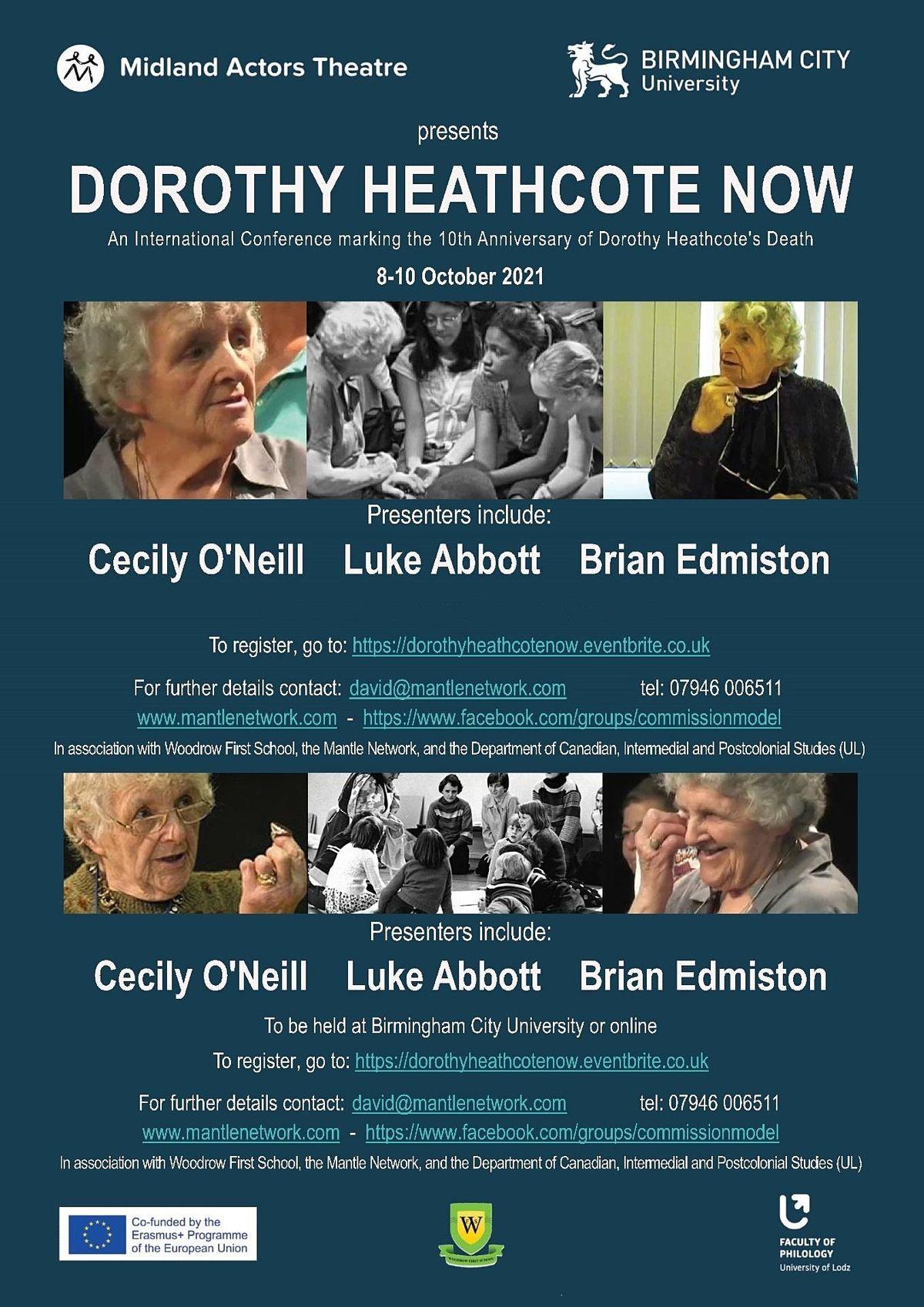 Dorothy Heathcote Now: International Conference