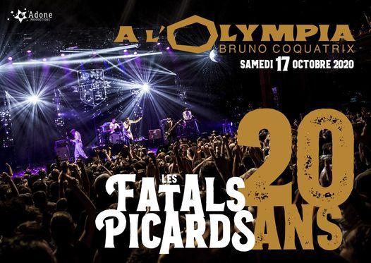 Les Fatals Picards, 20 ans \u00e0 L'Olympia \u2022 18\/09\/2021
