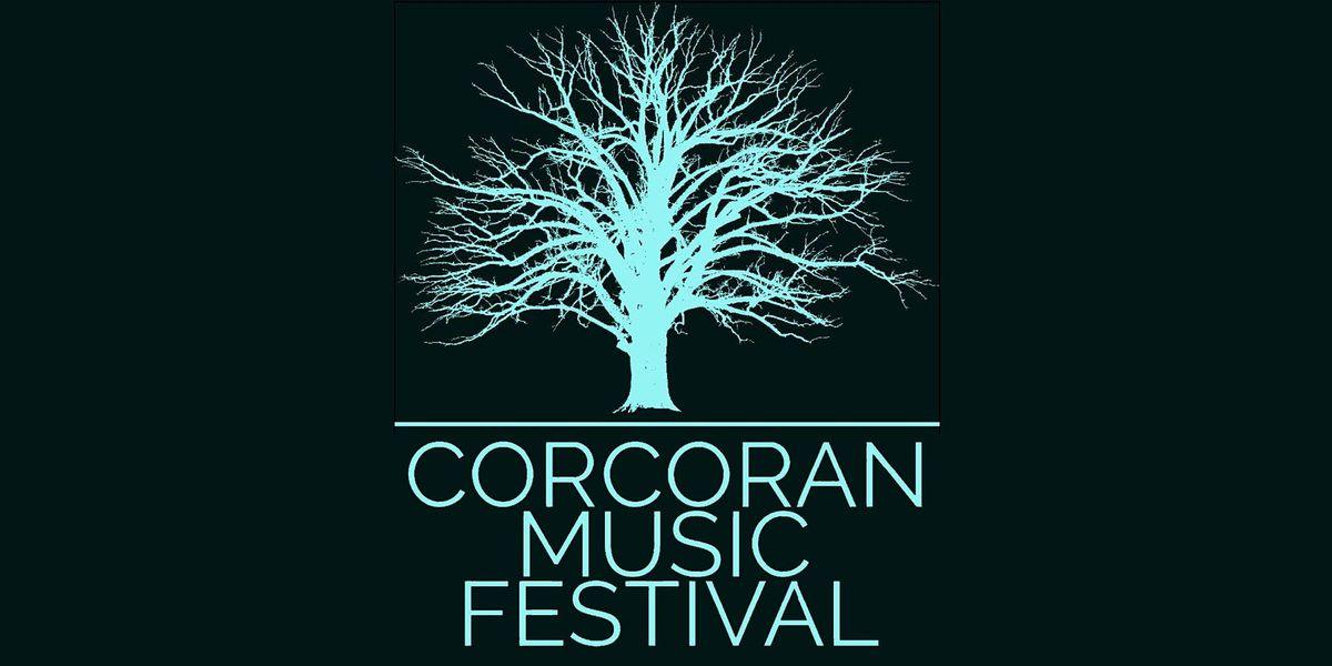 CORCORAN MUSIC FESTIVAL- Patrick Merrill & Grace Srinivasan