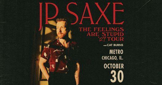 JP Saxe w\/ Cat Burns at Metro Chicago