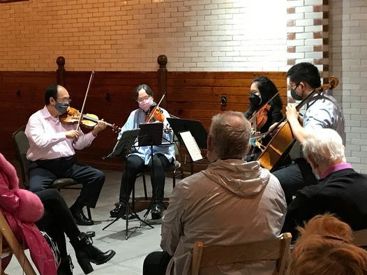 Courtyard Concert: The Chen String Quartet