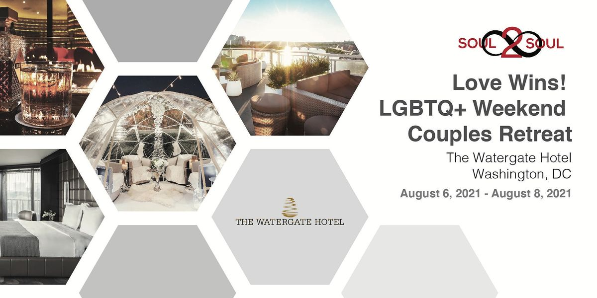 Connect & Unwind: Love Wins! LGBTQ+ Couples Weekend Retreat (DC)