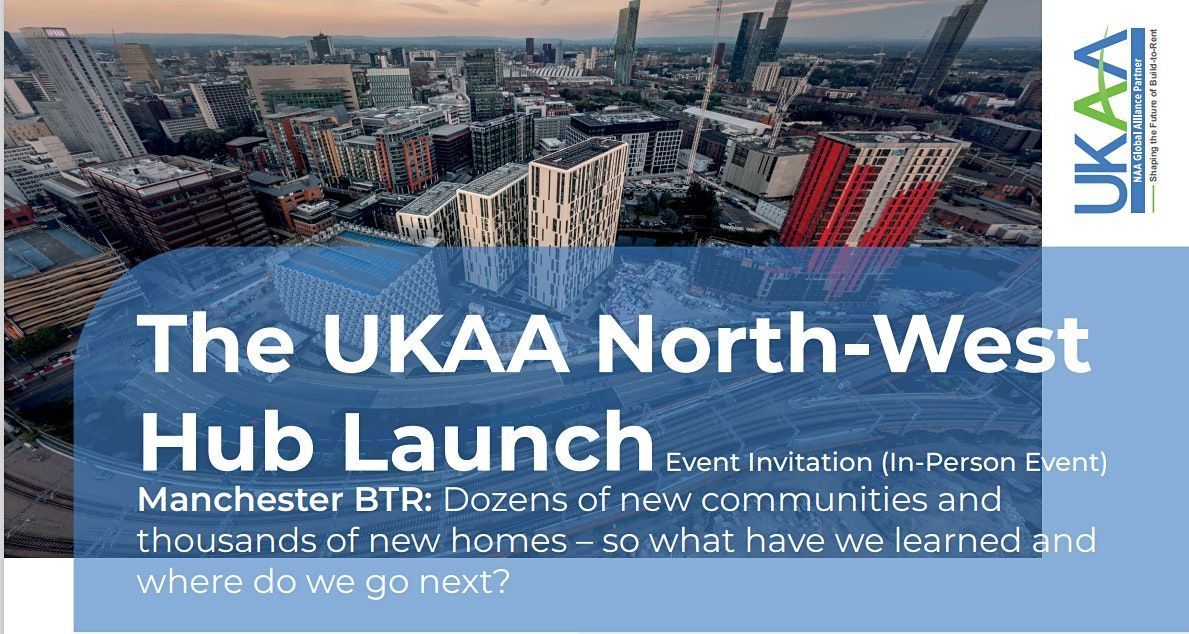 The UKAA North-West Hub Launch Event \u2013 Manchester