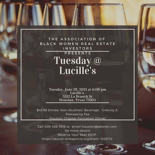 Houston - Tuesday @ Lucille's