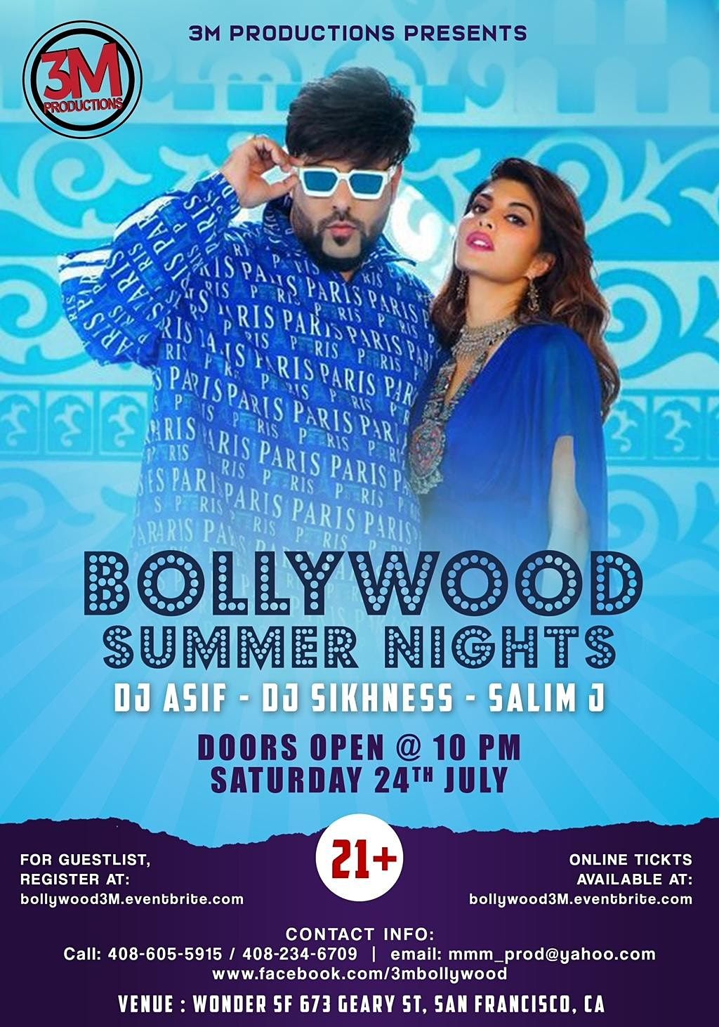 Bollywood Summer Nights - Let's Party