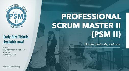 Kho\u00e1 H\u1ecdc Professional Scrum Master II (PSM II) th\u00e1ng 9 2021