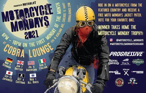 MOTORCYCLE MONDAYS - ITALIAN NIGHT