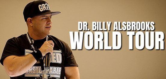 (TORONTO) BLESSED AND UNSTOPPABLE: Billy Alsbrooks Motivational Seminar