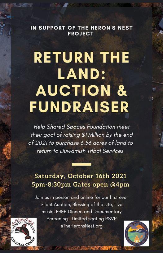 Return the Land: Auction & Fundraiser