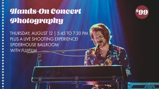 Hands-On Concert Photography with Fujifilm