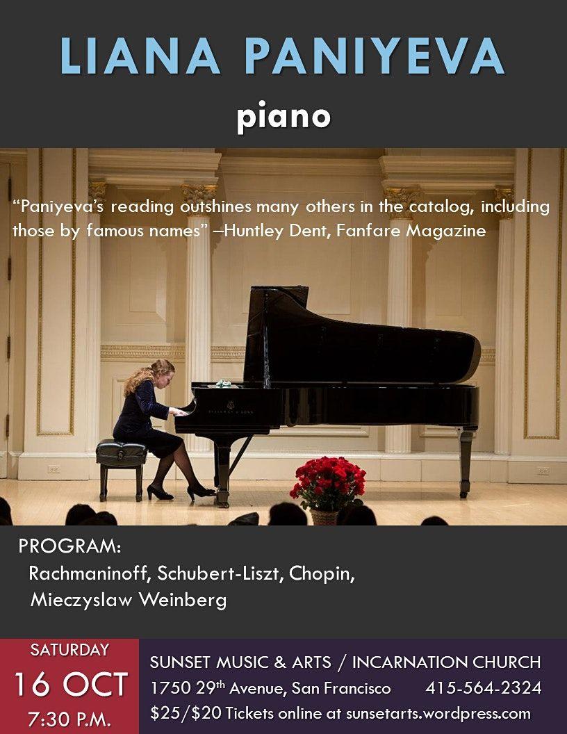 Liana Paniyeva, piano