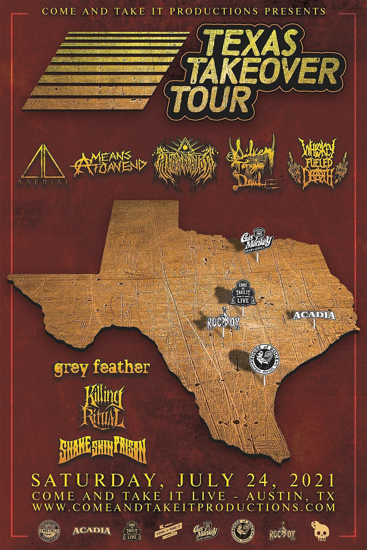 TEXAS TAKEOVER TOUR: Austin