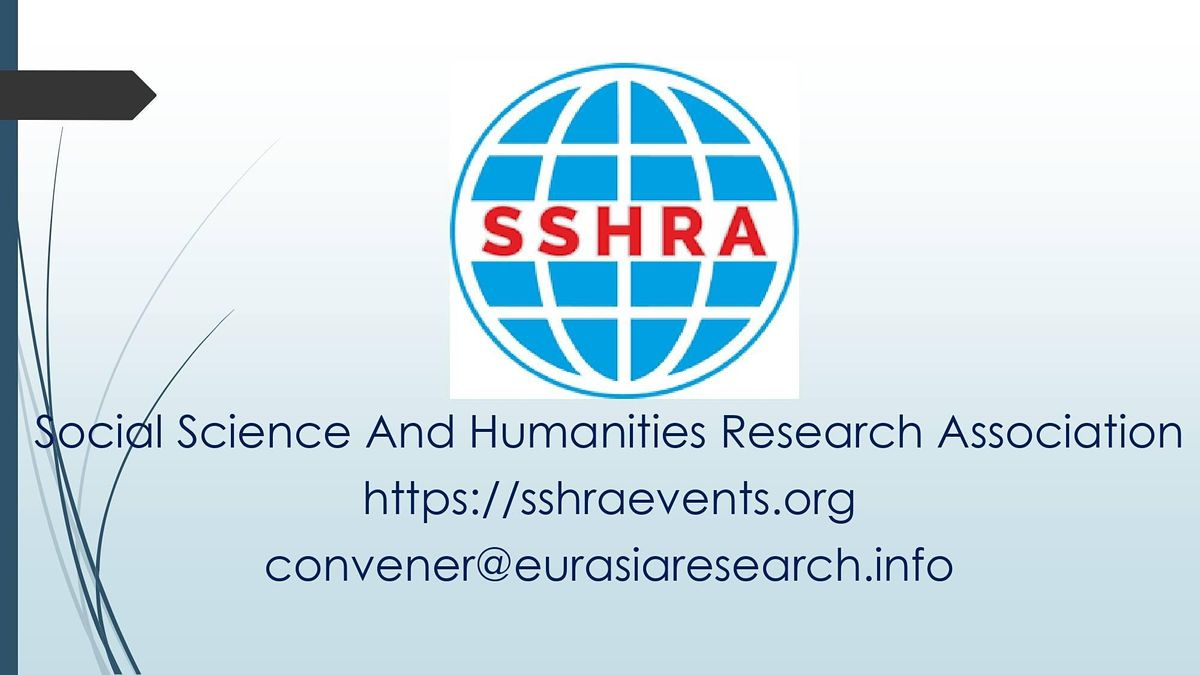 9th Singapore \u2013 International Conference on Social Science & Humanities
