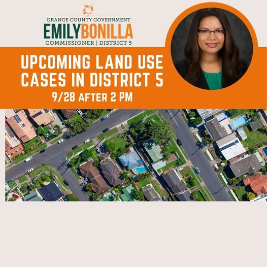Public Hearing - Land Use Cases District 5