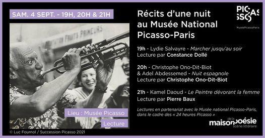 R\u00e9cits d'une nuit au Mus\u00e9e National Picasso - Paris