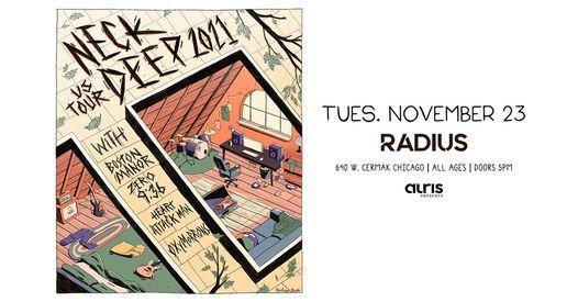 New Date \u00bb Neck Deep at Radius Chicago