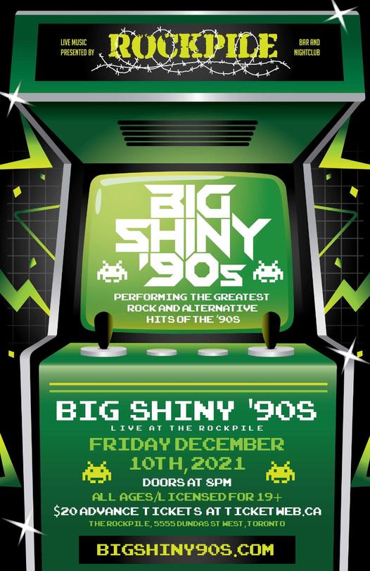 Big Shiny '90s at Rockpile