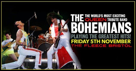 The Bohemians - A Tribute To Queen at The Fleece, Bristol 05\/11\/21
