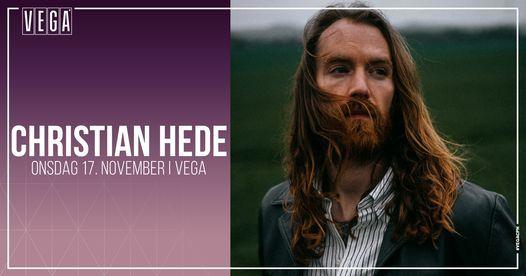 Christian Hede & band - album release [support: Magnus Knudsen] - VEGA