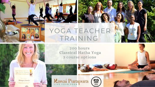 200 hour Yoga Teacher Training - Hatha Yoga