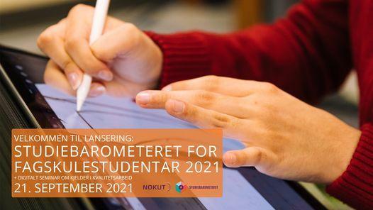 NOKUT-frukost: Studiebarometeret for  fagskulestudentar 2021