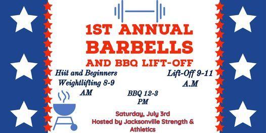Barbells & BBQ Lift-Off