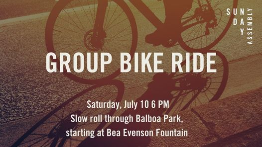 Slow Roll through Balboa Park
