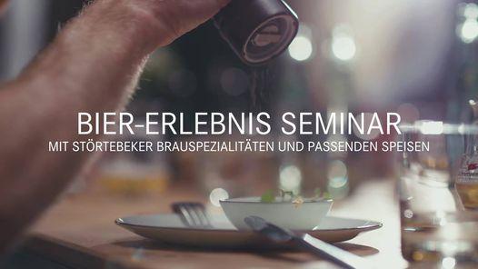 Bier-Erlebnis Seminar mit St\u00f6rtebeker Brauspezialit\u00e4ten