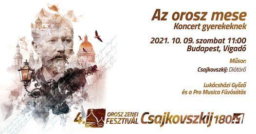 Az orosz mese \u2013 Koncert gyerekeknek