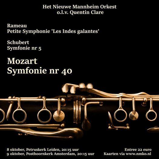 Het NMO speelt Rameau, Schubert en Mozart!